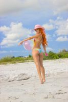 Misty at the beach by AmyFantasea