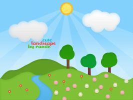 Cute Landscape by Ransie3