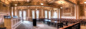 Capital Courtroom Pano HDR by joelht74