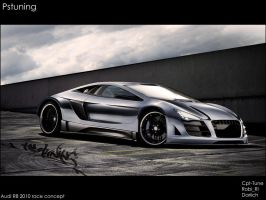 Audi R8 2010 Race cocept by CptDesign