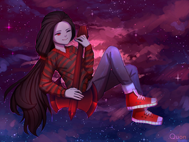 Marceline from Adventure Times by GudDoShy