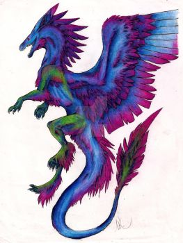 Dragon Freedom by neko-kokoru