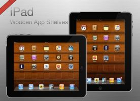 iPad Shelves Wallpaper by Thorero