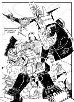 Dinobots by vagrantheart7