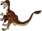 PRIMAL CARNAGE Oviraptor pouncing by TheOzzex