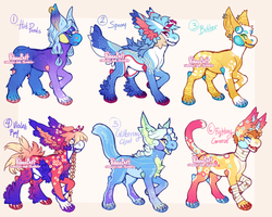 Phloxe and Roi's Bab Bonanza (CLOSED) by PhloxeButt