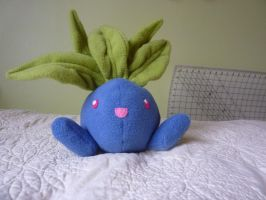 oddish pokemon plushie by Plush-Lore