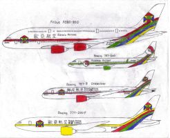 Eurasia Airlines 2012 Livery Part 2 by MaxCheng95