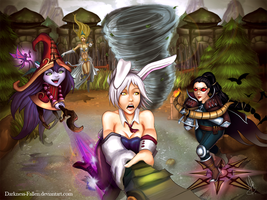 Tactical Decisions Summoner by Darkness-Fallen