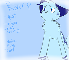River voice audition by Icefelis