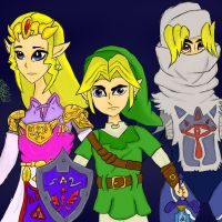 Have Courage, Link. by BittyTheBat