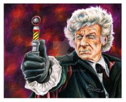 Jon Pertwee by EatToast
