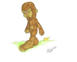Mini Monsters 002 - Big Foot by Shapshizzle