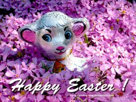 Happy Easter by ilura-menday-less