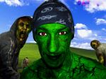 Face of the Zombie - Daz Bee by B-EVIL