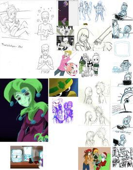 Unfinished and unposted works of 2012 by ForsytheFrontier