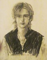 Draw me in Charcoal by Leustante