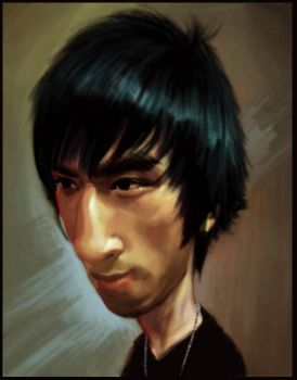 Vincent Caricature by Sycra