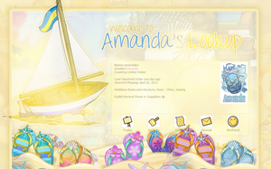 Amanda's Lookup - Summer Time by sosuftw