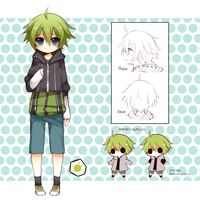Yuu ref sheet by giannysuki