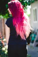 Ombre hair by candypow