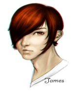 James sketch by theblacklotus92