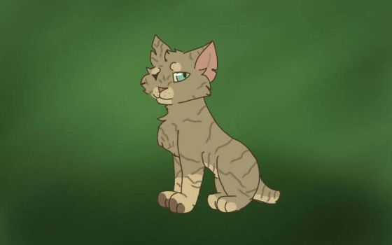 Forrest cat by TheFandomWithNoName