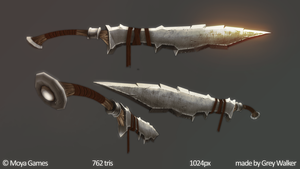 Iron Two-handed Sword by GreyPWalker