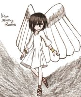 Xion with wings by Takara358
