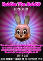 Robbie The Rabbit by imwalkingwithaghost