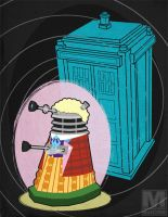 The Sixth Doctor Dalek by MeghanMurphy