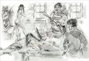Young ladies punishment by kindinov