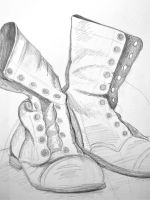 Military Boots by alifsu17