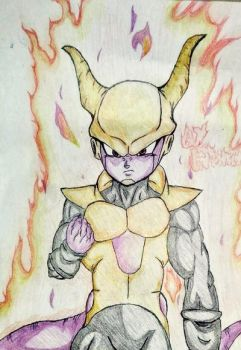 Dbxv2-Frieza race oc  by kotakthesaiyen