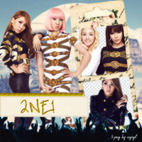 2NE1 Png Pack by NiklausAysegulSS