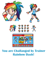 Trainer Rainbow Dash by 0RCV0