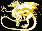 golden dragon by silanabloody
