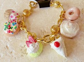 Frosty Icing Sweets Bracelet by LolitaPopShop