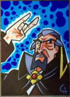 Dr. Orpheus sketch card by writerman34