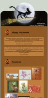 Halloween Journal CSS by ClaireLyxa