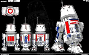 Star Wars - R5-D4 by cosedimarco