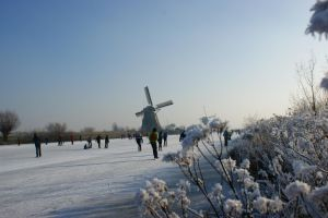 Winter at Kinderdijk by picture-melanie