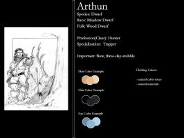 Hunter - Trapper - Arthun by WhiteAshesGroup