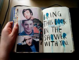 Bring this book in the shower with you... by xXNikkiRossXx