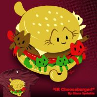 IR Cheeseburger by amegoddess