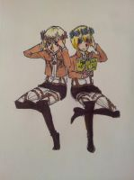 Armin and Christian by Jerrie-Strathmore