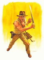 Indiana Jones by jasonedmiston