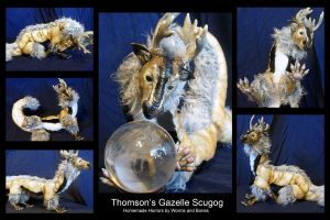 Thomson's Gazelle Scugog by WormsandBones