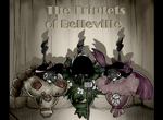 The Triplets of Belleville by Pikachim-Michi