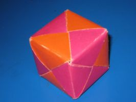 Origami Cube by hungrylikethwolf203